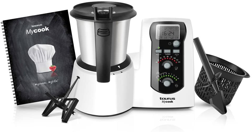 robot cocina taurus mycook touch